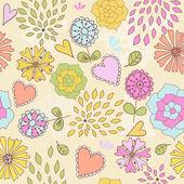 Texture transparente floral — Vecteur