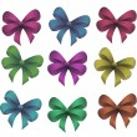 Set bow — Stock Vector #53103787