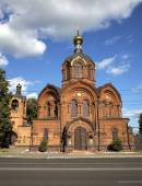 Archangel Michael church. Vladimir, Golden ring of Russia. — Stock Photo