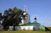 Saviour Transfiguration Church. Vladimir, Golden ring of Russia. — Stock Photo