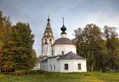 Cathedral of the Assumption. Ples, Golden Ring of Russia — Stock Photo