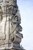 Plague Column. Linz, Austria — Stock Photo