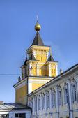 Klasztor św Mikołaja Ugreshsky (Nikolo-Ugreshsky). Dzierżyńskiego, Moscow region, Federacja Rosyjska — Zdjęcie stockowe