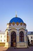 St. Nicholas Ugreshsky (Nikolo-Ugreshsky) monastery. Dzerzhinsky, Moscow region, Russia — Zdjęcie stockowe
