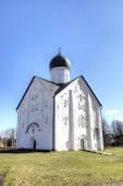 Church of the Transfiguration of the Savior on Ilyina street. Veliky Novgorod, Russia — 图库照片