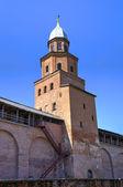 Tower Kokui of Novgorod Kremlin. Veliky Novgorod, Russia — Stock Photo