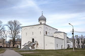 Church of Assumption of the Virgin. Veliky Novgorod, Russia — Стоковое фото