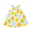 Childrens wear. Baby dress on a white background. Isolated — Stock Photo #58190635