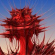 Red Plant Fractal — Stock Photo #53323073