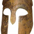 Ancient Greek Spartan Helmet — Stock Photo #53622257