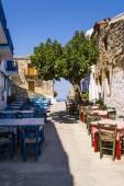 Alonissos Greek Island Street — Stock Photo