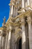 Duomo di Siracusa - Syracuse Catholic Cathedral, Sicily, Italy — Stock Photo