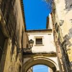 Ortigia Alley, Syracuse, Sicily, Italy — Stock Photo #72545939