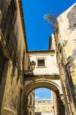 Ortigia Alley, Syracuse, Sicily, Italy — Stock Photo
