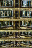 Ceiling of Monreale cathedral — Stock Photo