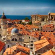 Red Roofs Of Dubrovnik, Croatia — Stock Photo #60367873