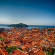 Red Roofs Of Dubrovnik, Croatia — Stock Photo #60368023