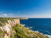 Cliff in Majorca — Photo
