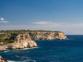 Cliff in Majorca — Foto Stock