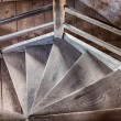 Old staircase in an abandoned castle — Stock Photo #54994929