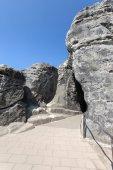 Saxon Switzerland National Park - Bastei, Germany — Stock Photo
