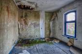 Inside the destroyed house — Stock Photo