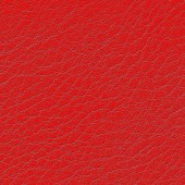 Red leather closeup — Stockfoto
