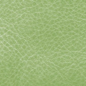 Green leather closeup. — Stockfoto