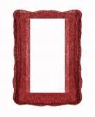 Red frame — Stock Photo