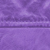 Old violet leather texture — Stock Photo