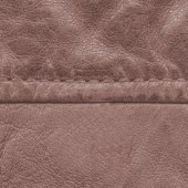 Old brown leather texture — Stock Photo