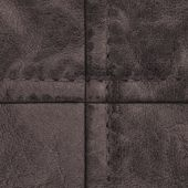 Dark brown leather clothing accessories — Foto de Stock