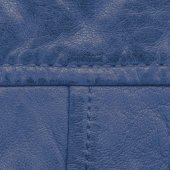 Fragment of blue leather — Stockfoto