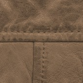 Fragment of brown leather — Stockfoto