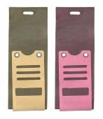 Two cardboard tags — Stock Photo