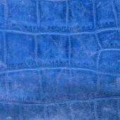 Blue leather goods in snakeskin — Fotografia Stock
