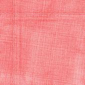 Red denim texture — Stockfoto