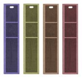 Cardboard tags of different colors — Stock Photo
