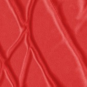 Fragment of red leather jacket — Stock Photo