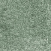 Old green wrinkled leather texture  — Stock Photo