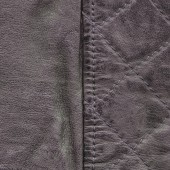 Brown crumpled leather texture — Stock Photo