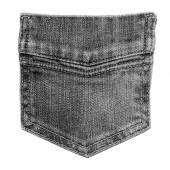 Denim pocket closeup. — Stock Photo