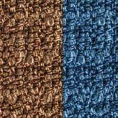 Blue and brown textile texture — Stock Photo