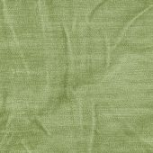 Zmačkaný zelené denim textury — Stock fotografie