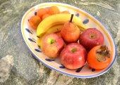 Fruit bowle — Stock Photo