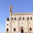 Palazzo dei Consoli in front of blue sky — Stock Photo #59386059