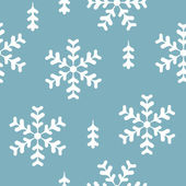 Vector seamless pattern winter — Stock vektor