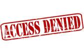 Access denied — Stock Vector