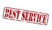 Best service — Stock Vector
