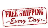 Free shipping — Stock Vector
